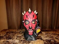 Darth Maul Rare Signed Prop Mask Ray Park Star Wars Phantom Menace Sith Lord WOW
