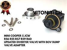 MINI COOPER S DIVERTER VALVE & DUMP VALVE BOV ADAPTER R56 R55 R60 R59