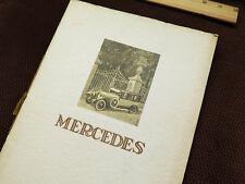 1924-29 Mercedes Sales Brochure