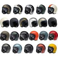 Biltwell Bonanza Motorcycle Helmet Street Retro 3/4 Open Face NEW IN BOX