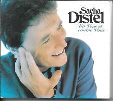 COFFRET DIGIPACK 2 CD COMPIL 27 TITRES--SACHA DISTEL--EN VERS ET CONTRE VOUS...