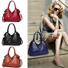 Women Faux Leather Handbags Shoulder Bag Purse Tote Messenger Satchel Crossbody