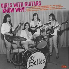 GIRLS WITH GUITARS KNOW WHY! violet vinyl LP Kinks Pleazers Denise Belles Chymes