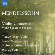 Tianwa Yang, F. Mend - Violin Concertos in E minor Op 64 & D minor [New CD]