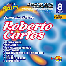 Karaoke Latin Stars 08 Roberto Carlos Vol. 1