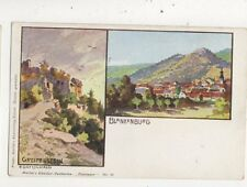 Greifenstewin Blankenburg Chromo U/B Postcard Germany 019b