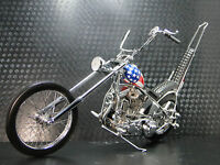 Easy Rider Harley Davidson Built Motorcycle Chopper Captain America Model
