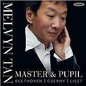 Master & Pupil: Beethoven, Czerny, Liszt, Melvyn Tan, Audio CD, New, FREE & FAST