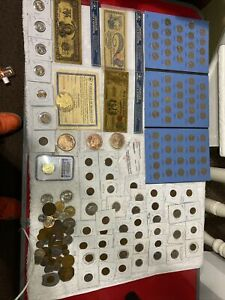 Estate coin collection lot