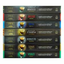 Caffitaly Nespresso Compatible Coffee Capsules Premium Blend Italian Pods