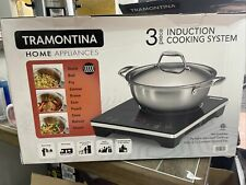 Brand New 2020 Tramontina Home Appliances 3 Piece Induction Cooking System