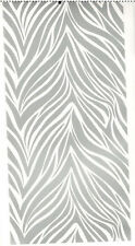 SILVER ANIMAL PRINT TILES wall stickers 4 decals bedroom decor backsplash