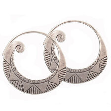 Unique Karen Hill tibe Design Earrings Pure Silver Karen