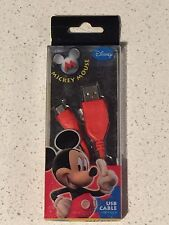 Disney Mickey Mouse Mini USB Cable (USB 1.1/2.0)