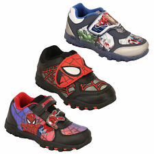 boys spiderman avenger Marvel trainers storm troopers kids toddlers casual shoes