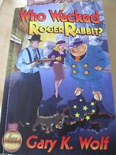 DISNEY WHO WACKED ROGER RABBIT SIGNED PROMO COPY BOOK GARY K. WOLF CREATOR LE 40