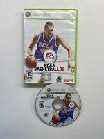 NCAA Basketball 09 (Microsoft Xbox 360, 2008) No Manual