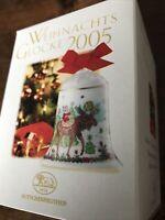 in OVP Porzellanglocke Weihnachtsglocke 1988 Hutschenreuther