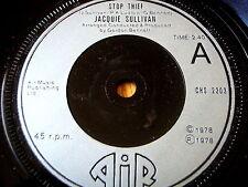 """JACQUIE SULLIVAN - STOP THIEF   7"""" VINYL"""