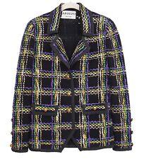 Adolfo Vintage 70s Jacket Blazer Knit Size S