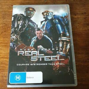 Real Steel DVD R4 Like New! FREE POST