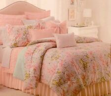 NWT SHABBY CHIC FLORAL FRENCH COUNTRY TWIN SIZE DUVET BED SET DUVET COVER SHAM