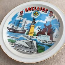 Vintage Adelaide South Australia Plate Heaps Good What School Did You Go To?