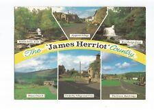 Postcard James Herriot Yorkshire Multiview    (A17)
