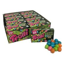 24x Trolli Extreme Sour Bites Fruitz Flavored Candies American Sweets