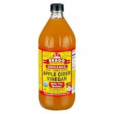Bragg Organic Raw Unfiltered Apple Cider Vinegar w/ Mother 32 fl.oz. FAST SHIPP