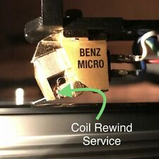 Benz Micro Glider Hand Coil Rewinding Service Moving Coil Cartridge