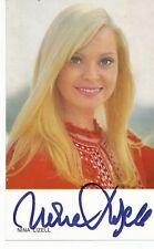 Nina Lizell  Musik Autogrammkarte original signiert 365211