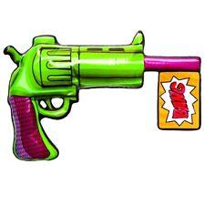 DC Super Villains The Joker Inflatable Gun, 32366, Rubies