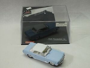 CARRERA 1956 THUNDERBIRD 1/32 slot car TESTED with box