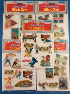 Vintage Stickers VIDEO GAME STICK-ONS 1988 Imperial **Multi-List / Choose Pack**
