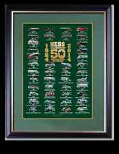 2014 Hess Toy Truck 50 Year Anniversary Collector's Poster - FREE SHIPPING!