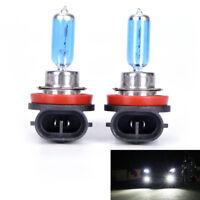 2Pcs H11 12V 55W Super Bright Ultra White Fog Halogen Bulb Car Head Light IY