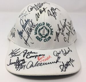 Unknown Players Muirfield Village Golf Club  Signed Autographed Autograph Hat