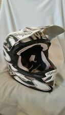 Troy Lee Designs d3 Composite tête casquée Squirt White/Black Medium-Large DH MTB