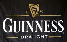 New listing 3x5Ft Guinness Traditional Flag Irish Beer Bar Restaurant Party Dorm St Patty's
