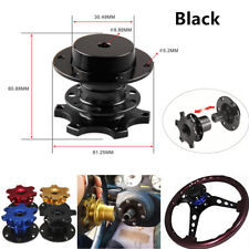 1PCS Racing Car Quick Release Snap Off Steering Wheel Hub Adapter Kit Universal
