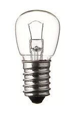 Glühlampe Glühbirne Niederspannung klar 12V 10W E14 22x48 mm Speziallampe
