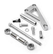 For Chevy SBC 350 Long Water Pump Lwp Aluminum Alternator Bracket Kit Polished