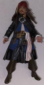"""2011 Captain Jack Sparrow 4"""" Jakks Action Figure Disney Pirates Of The Caribbean"""
