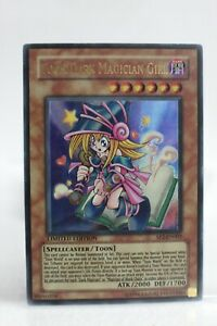 Yugioh Card -  Toon Dark Magician Girl SP2-EN002 Ultra Rare - Moderately Played
