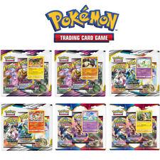 Pokemon-Blister-Packs zur Auswahl | 3 Booster, Promokarte, Münze | Deutsch | Neu