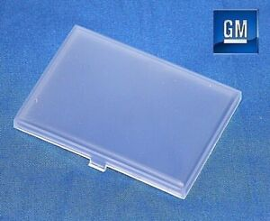 """88-02 GMC Sierra Yukon 2"""" X 2.75"""" Rectangular Dome Light Cover Lens NEW GM 768"""