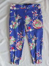 Ralph Lauren Polo Golf Ankle/Capri Pants -Purple Flowers/Floral-Size 10-NWT $165