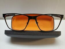 "REPUBLICA ""BEDFORD"" Eyeglasses Frame Mens 58-17-150 Black Matte/Clear XJ66"
