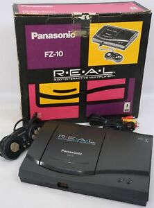 "3DO REAL Console FZ-10 Boxed Panasonic Tested System JAPAN ""NTSC-J CD"" KKSA29212"